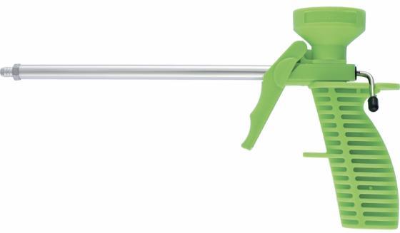 Пистолет для монтажной пены СИБРТЕХ 88672 пластмассовый корпус пистолет для монтажной пены облегченный корпус sparta