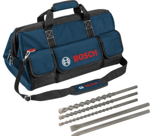 Набор BOSCH 06159975BN SDS-Max буры и зубила + сумка в подарок
