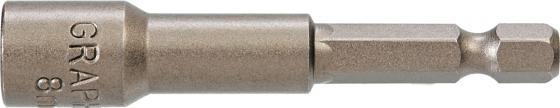 Головка GRAPHITE 57H992 магнитная 8х65мм 1/4 цена