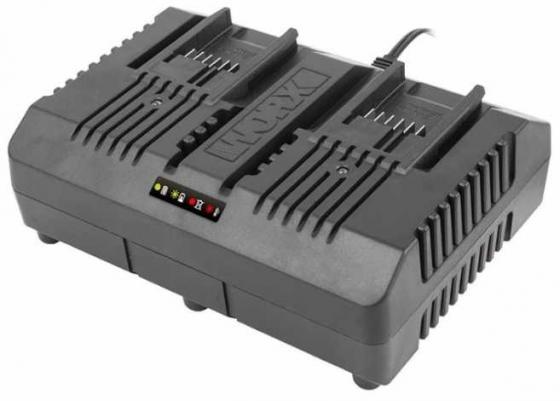 Фото - Двойное зарядное устройство WORX WA3883 20В 2*2A зарядное