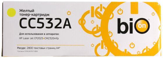 Bion CC532A Картридж для Laser Jet CP2025/CM2320mfp, желтый 2800 страниц [Бион]