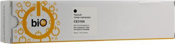 Фото - Bion CE310A Картридж для HP Color LaserJet CP1012 Pro/CP1025 Pro/Canon LBP7010C/LBP7018C, чёрный 1200 стр [Бион] bion ce313a картридж для hp color laserjet cp1012 pro cp1025 pro canon lbp7010c lbp7018c пурпурный 1000 стр [бион]