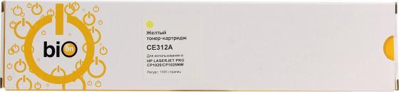 Фото - Bion CE312A Картридж для HP Color LaserJet CP1012 Pro/CP1025 Pro/Canon LBP7010C/LBP7018C, жёлтый 1000 стр [Бион] струйный катридж для da vinci color 40ml жёлтый