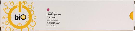 Фото - Bion CE313A Картридж для HP Color LaserJet CP1012 Pro/CP1025 Pro/Canon LBP7010C/LBP7018C, пурпурный 1000 стр [Бион] bion ce313a картридж для hp color laserjet cp1012 pro cp1025 pro canon lbp7010c lbp7018c пурпурный 1000 стр [бион]
