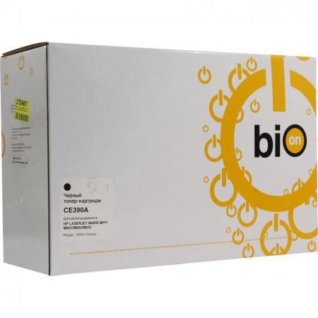 Фото - Bion CE390A Картридж для HP LaserJet M4555MFP/M600/601/602, черный , 10000 страниц [Бион] bion ce390a картридж для hp laserjet m4555mfp m600 601 602 черный 10000 страниц [бион]