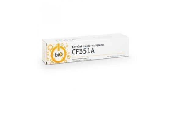 Фото - Bion CF351A Картридж для HP CLJ Pro MFP M176N/M177FW C, 1000 страниц [Бион] bion cf350a картридж для hp laserjet pro m176n mfp m177fw mfp 1300 стр черный с чипом [бион]