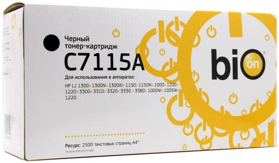 Фото - Bion C7115A Картридж для HP Laser jet HP Laser jet 1300/1300N/1300XI,1150/1150N;1000/1200/1220/3300/3310/3320/3330 /3380/1000W/1005W/1220, 2500 стр. [Бион] лента шлиф jet sl150 1220 180g 150 х 1220мм 180g для jsg 96 31а 31а