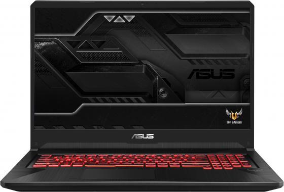 """Ноутбук 17.3"""" FHD Asus ROG FX705DY-AU042T black (AMD Ryzen 5 3550H/8Gb/1Tb/256Gb SSD/RX560X 4Gb/W10) (90NR0192-M01190) цена и фото"""