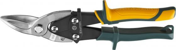 Ножницы по металлу KRAFTOOL 2328-L Alligator левые, Cr-Mo, 260 мм ножницы по металлу kraftool alligator 260мм 2328 l