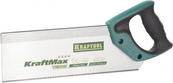 Фото - Ножовка с обушком для стусла KRAFTOOL 15228-30 KraftMax TENON 14 /15 TPI, 300 мм, специальный зуб ножовка kraftool 1 15181 30 14