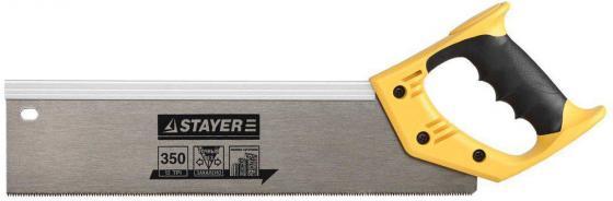 Ножовка STAYER 15365-35 COBRA 12 для стусла c усиленным обушком (пила) 350 мм, 12 TPI