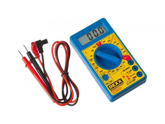 Мультиметр DEXX 45300 dx200 цифровой
