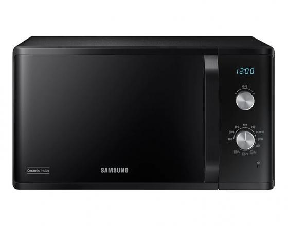 цена на Микроволновая печь Samsung MG 23K3614 AK 800 Вт чёрный серый