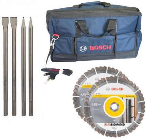 Набор BOSCH 06159975H3 Алмазные диски и зубила + сумка в подарок