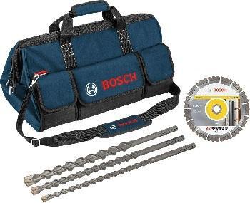 Набор BOSCH 06159975H4 Алмазный диск и буры SDS-max 7 + сумка в подарок