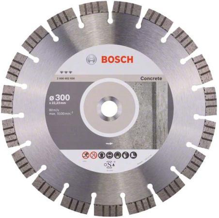 Диск алм. BOSCH Best for Concrete 300x22 сегмент (2.608.602.656) 300 Х 22 сегмент