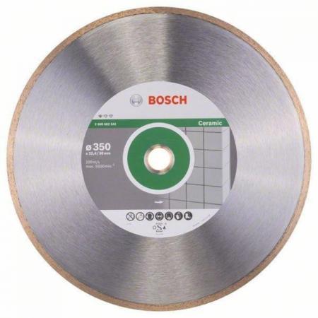 Диск алм. BOSCH Standard for Ceramic 350x25.4/30 корона (сплошной) (2.608.602.541) 350 Х 25.4/30 ко диск алм bosch standard for ceramic 115x22 корона сплошной 2 608 602 201 115 х 22 корона спло