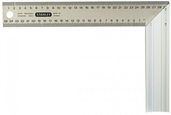 цена на Угольник Stanley 1-45-687 20 см нержавеющая сталь