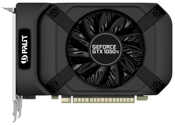 Видеокарта Palit GeForce GTX 1050 Ti StormX PCI-E 4096Mb GDDR5 128 Bit OEM все цены