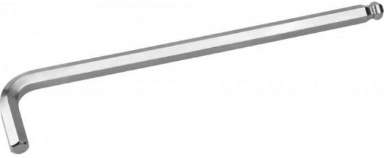 Ключ KRAFTOOL 27437-4 INDUSTRIE длинный c шариком, Cr-Mo, хромосатинированное покрытие, HEX 4 ключ kraftool 27437 17 industrie длинный c шариком cr mo хромосатинированное покрытие hex 17