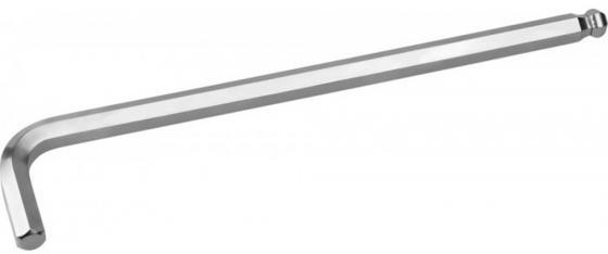 Ключ KRAFTOOL 27437-12 INDUSTRIE длинный c шариком, Cr-Mo, хромосатинированное покрытие, HEX 12 ключ kraftool 27437 17 industrie длинный c шариком cr mo хромосатинированное покрытие hex 17