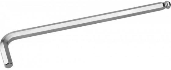 Ключ KRAFTOOL 27437-6 INDUSTRIE длинный c шариком, Cr-Mo, хромосатинированное покрытие, HEX 6