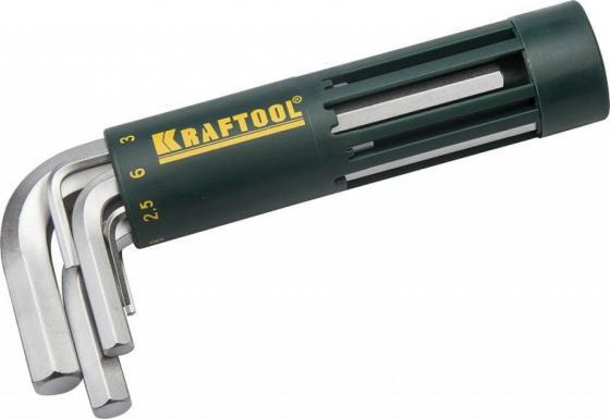 Набор KRAFTOOL EXPERT 27430-1_z01 короткие. Cr-Mo сталь. держатель-рукоятка. HEX 2-10мм. 8 пред