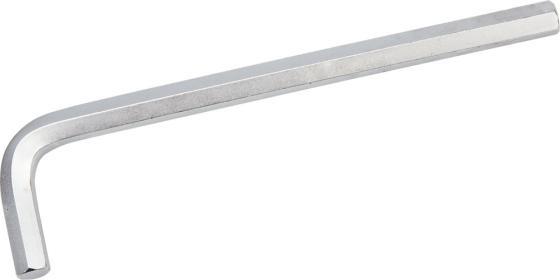 Ключ ЗУБР 27451-10 ЭКСПЕРТ имбусовый длинный, Cr-Mo, сатинированное покрытие, HEX 10 ключ зубр 27452 25 эксперт имбусовый длинный cr mo сатинированное покрытие torx 25