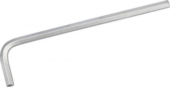 цена на Ключ ЗУБР 27451-4 ЭКСПЕРТ имбусовый длинный, Cr-Mo, сатинированное покрытие, HEX 4