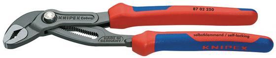 Ключ KNIPEX KN-8702300 КОБРА универс. переставной knipex kn 8310010 трубный ключ 90°