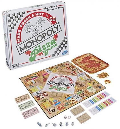 Игра Hasbro Games настольная МОНОПОЛИЯ ПИЦЦА игра настольная юный повар пицца 20х3 5х24 5см