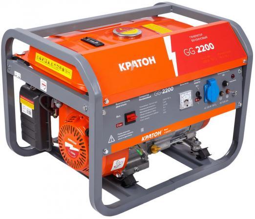 Генератор КРАТОН GG-2200 2.2 кВа/2 кВт, 196 см3, время работы: 8.3 ч.