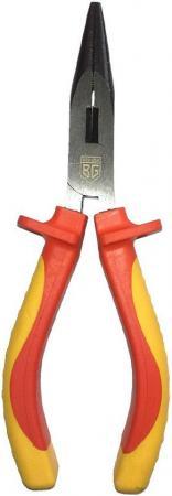 Длинногубцы BERGER BG1171 диэлектрические до 1000V 160 мм плоскогубцы berger bg1174 диэлектрические до 1000v 180 мм