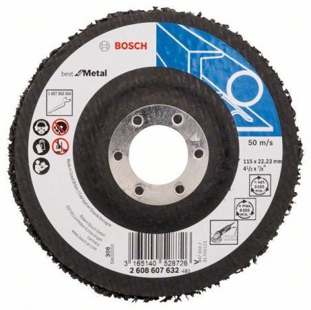 Bosch 2608607632 1 ЗАЧИСТНОЙ КРУГ 115мм B.f.Metal круг зачистной мет 150х25х32 14a