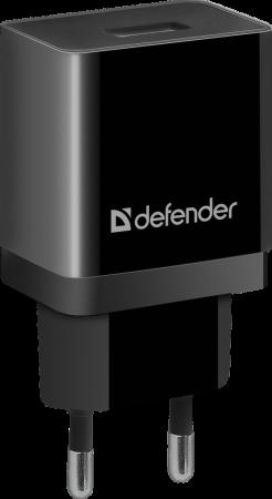 Defender Сетевой адаптер 1xUSB, 5V/1А , черный (UPA-11 ) (83547) аксессуар адаптер b well ad 155 сетевой