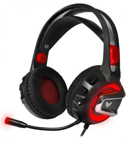 лучшая цена Игровая гарнитура проводная Crown CMGH-3100 черный красный