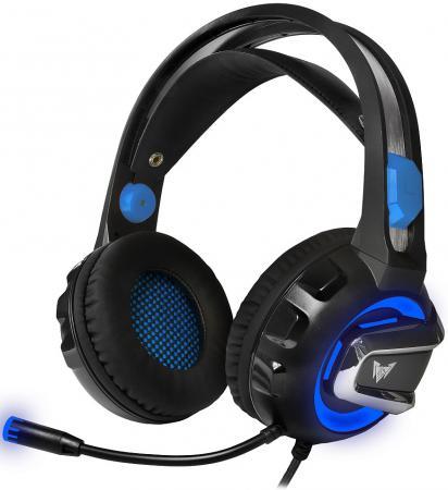 Купить Игровая гарнитура проводная Crown CMGH-3101 черный синий