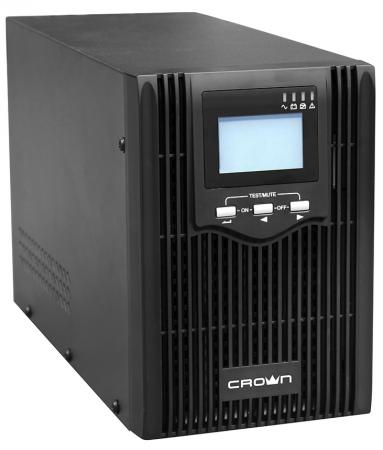 CROWN ИБП CMUS-615 {Line Interactive, 1500VA/1200W, розетки 3*IEC С13, LCD} [CM000001900] цена в Москве и Питере