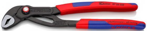 KNIPEX KNIPEX Cobra® QuickSet фосфатированные, серого цвета 250 мм { Длина250 Ширина94 Высота18} [KN-8722250] knipex cobra kn 8701180 универсальный переставной ключ