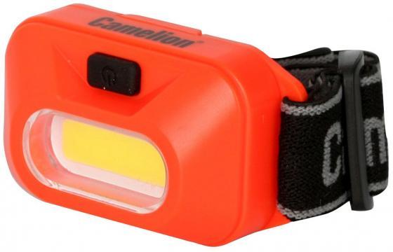 цена на Фонарь налобный Camelion LED5381 оранжевый