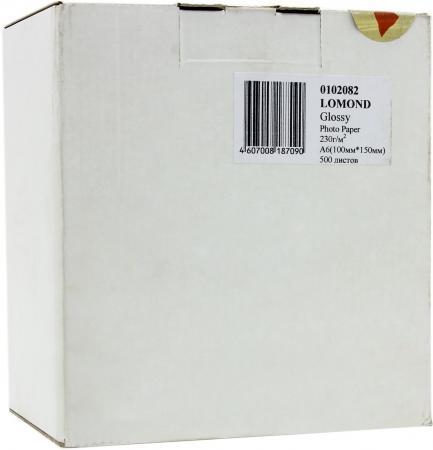 Бумага Lomond 10*15 230г/кв.м глянцевая односторонняя 0102082 500л