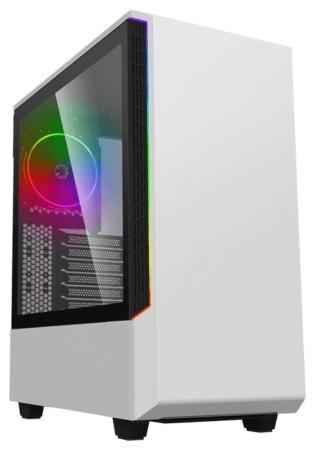 GameMax [T802 Panda] Panda, Белый, 2*USB3.0; зак. стекло, (без БП)