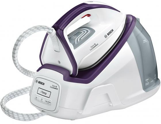 Паровая станция Bosch TDS6110 2400Вт белый/фиолетовый паровая станция ariete 6431 duetto basic
