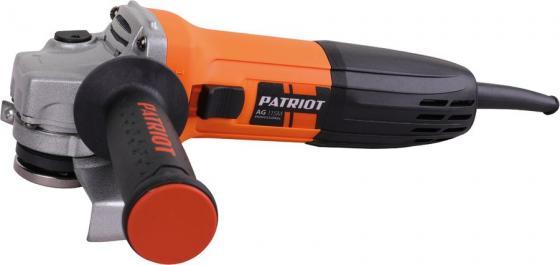 Углошлифовальная машина Patriot AG 115M 680Вт 11000об/мин рез.шпин.:M14 d=115мм patriot ag 115m