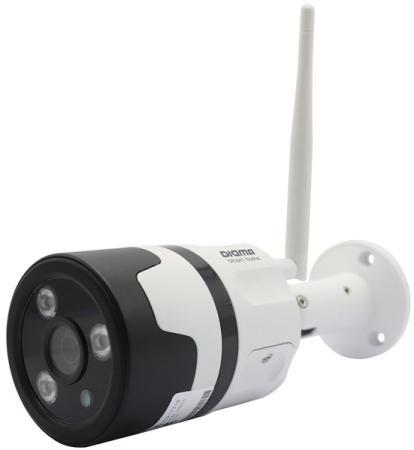 Фото - Видеокамера IP Digma DiVision 600 3.6-3.6мм цветная корп.:белый/черный видеокамера