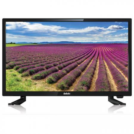 "Телевизор LED 24"" BBK 24LEM-1063/T2C черный 1366x768 50 Гц VGA USB HDMI телевизор 24 philips 24pht4031 60 hd 1366x768 usb hdmi черный"
