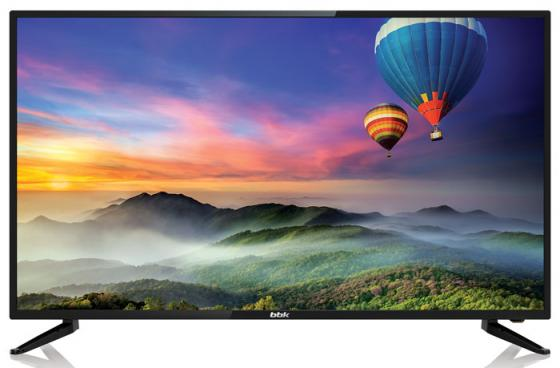 Телевизор LED BBK 43 43LEX-6056/UTS2C черный/Ultra HD/50Hz/DVB-T2/DVB-C/DVB-S2/USB/WiFi/Smart TV (RUS) bbk 65lex 6039 uts2c led телевизор
