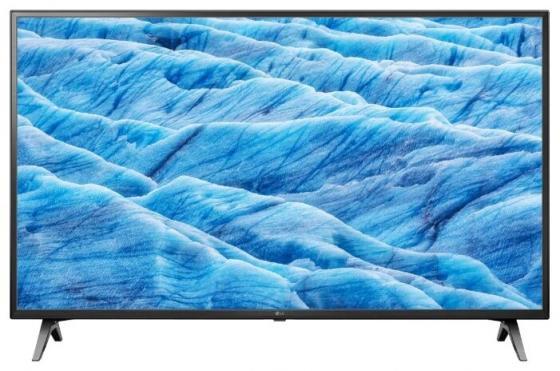 Телевизор 60 LG 60UM7100PLB черный 3840x2160 200 Гц Wi-Fi Smart TV RJ-45 телевизор led 70 lg 70um7100pla черный 3840x2160 50 гц smart tv wi fi rj 45 bluetooth