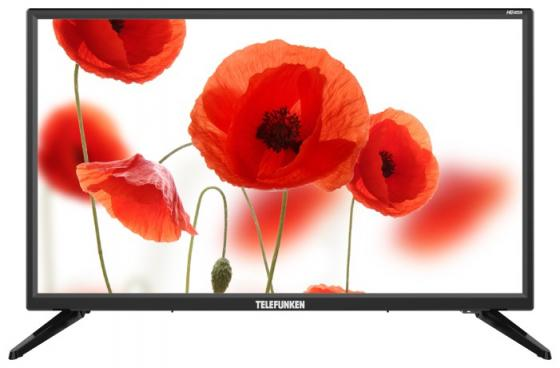 цена на Телевизор LED Telefunken 24 TF-LED24S50T2 черный/HD READY/50Hz/DVB-T/DVB-T2/DVB-C/USB (RUS)