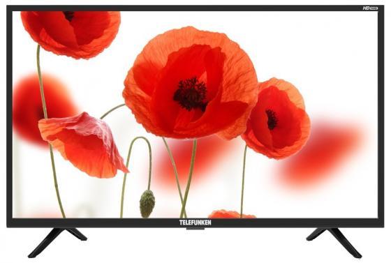 цена на Телевизор LED 32 Telefunken TF-LED32S24T2 черный 1366x768 50 Гц